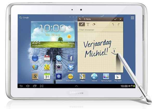 Samsung Galaxy Note 10.1 branco