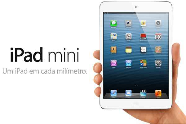 novo ipad mini na mao