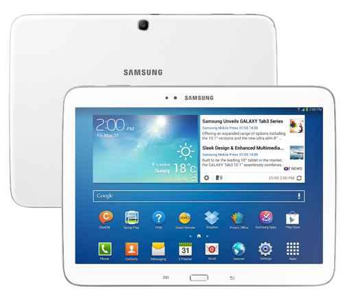 """bom Tablet Samsung Galaxy Tab 3 com Tela 10.1"""" GT-P5200 3G com 16GB, Processador Dual Core de 1.6GHz"""