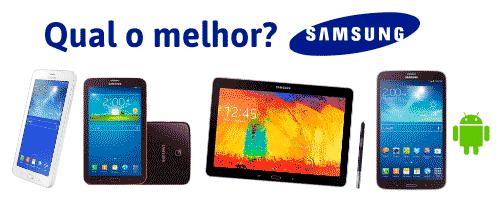 descubra qual o melhor tablet da samsung