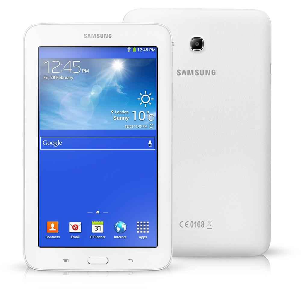 Tablet da marca Samsung Galaxy Tab 3 Lite com preco bo de comprar no custo beneficio