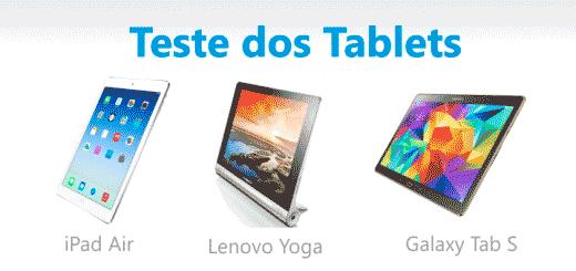 comparativo dos melhores tablets do brasil 2014 e 2015