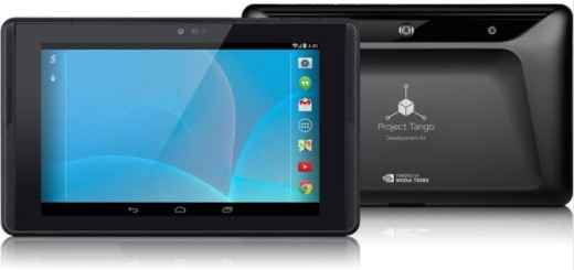 tablet do Google Project Tango 2015 brasil
