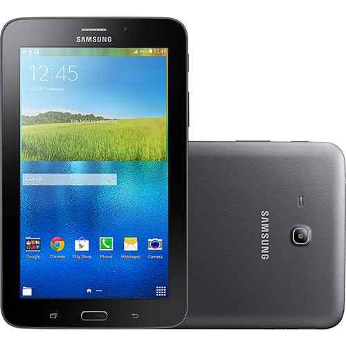 Comprar Tablet Samsung Galaxy Tab T113 8GB Wi-Fi Tela 7 Android 4.4 barato