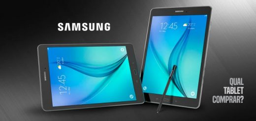 Análise de modelos Qual Tablet Samsung comprar